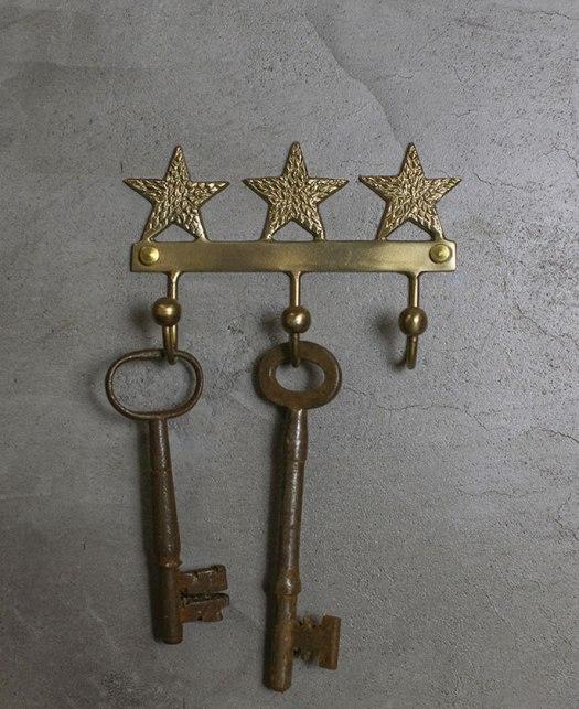 star brass hooks